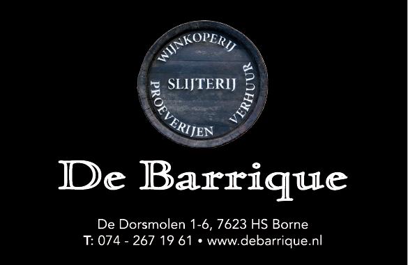Slijterij Wijnkoperij De Barrique