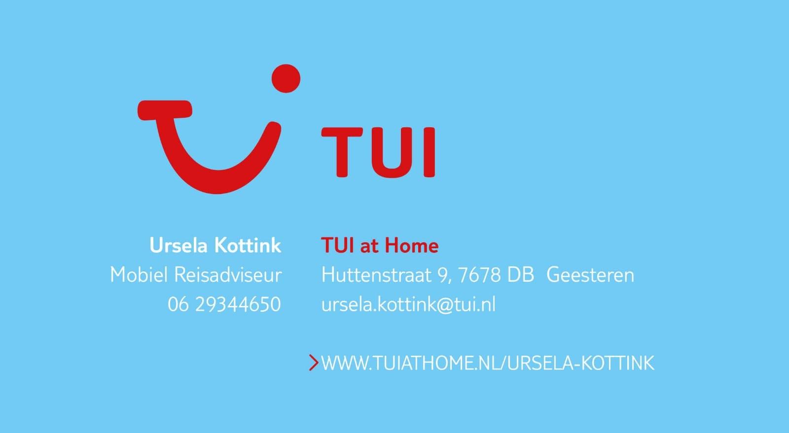 TUI at Home Ursela Kottink
